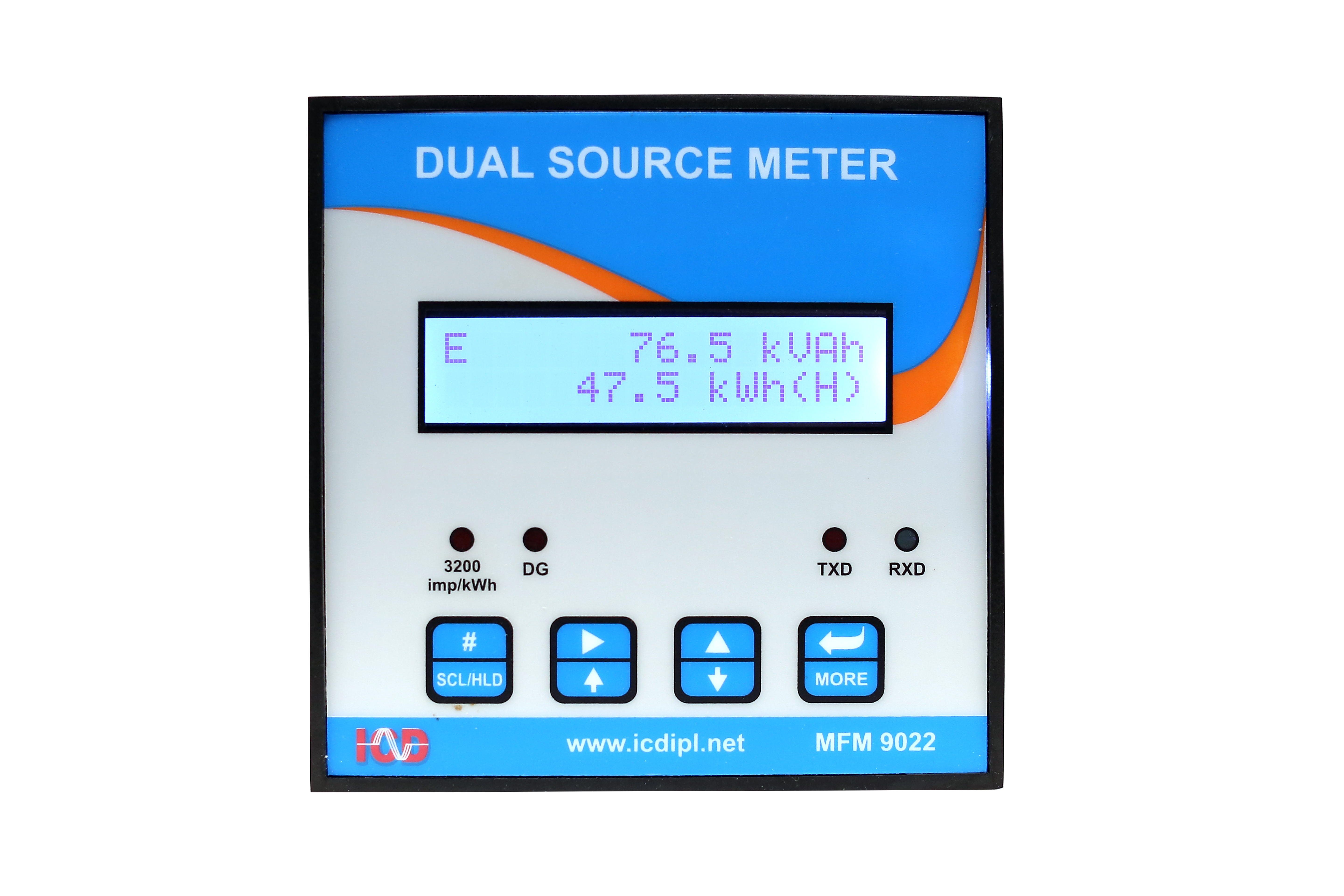ICD – DUAL SOURCE ENERGY METER Model No: EM 9024 Manufacturer and ...