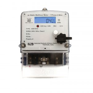 AC Static Watthour Meter