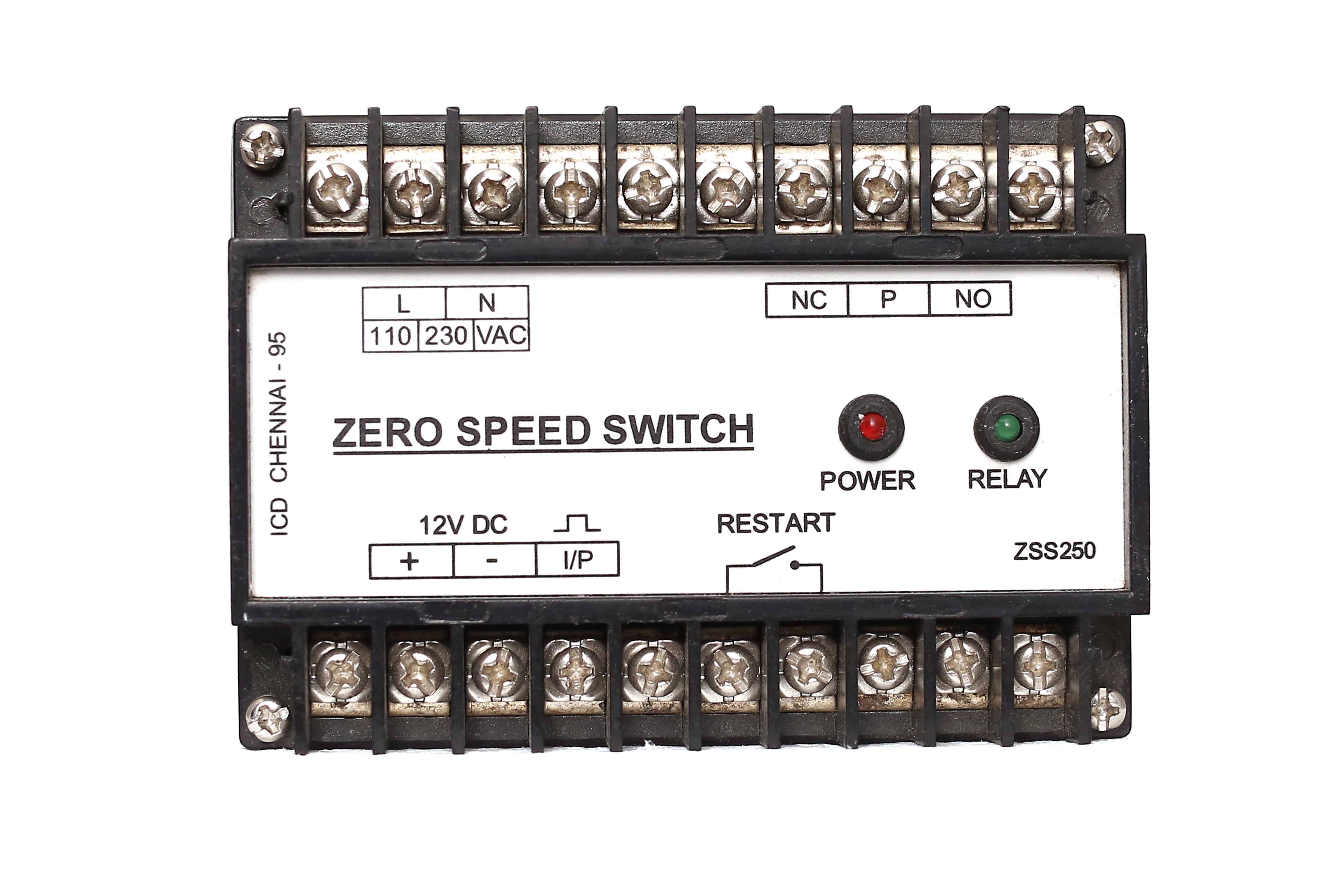 Icd Zero Speed Switch Model No Zss250